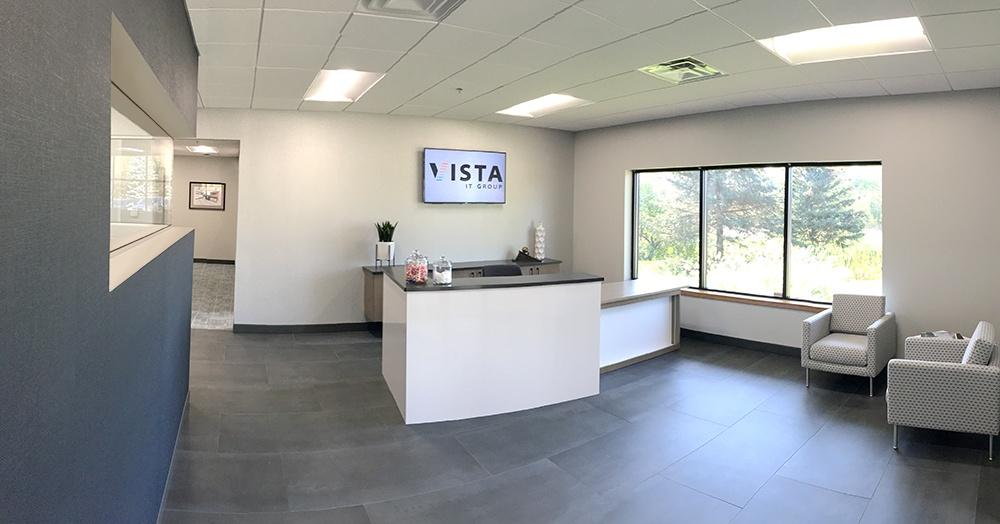 Vista's Newly Remodeled Lobby