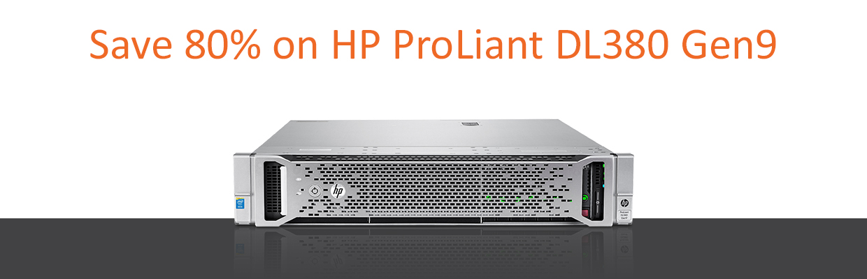 HPE ProLiant DL380 Gen 9